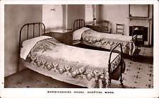 Holborn, London. Warwickshire House Female Staff Hostel. Hospital Ward.