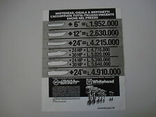 advertising Pubblicità 1983 WHITEHEAD CIGALA E BERTINETTI
