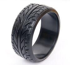 4PCS RC 1/10 On Road Drift Car Drift Tires 26mm Hard Plastic Tyre FIT HSP HPI