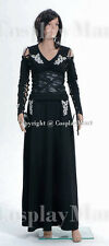 Harry Potter Bellatrix LeStrange Black Dress Costume