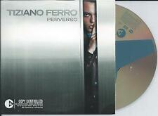 TIZIANO FERRO - perverso CD SINGLE 2TR EU CARDSLEEVE 2003