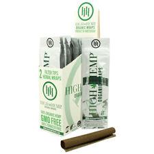 Organic Wrap 25 Packs Full Box 50 Wraps Total Vegan All Natural + Tips