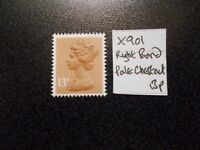 GB 1971+~ Machin~13p~SG X901~Right Band~Pale Chestnut~Unmounted Mint~UK