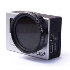 37mm CPL Filter Circular Polarizer Lens +Protective Cap For GoPro 3 3+ 4 LF324