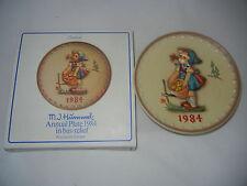 Goebel Year Plate 1984 - fleißiges Lizzie - Boxed (My Art no. 1984-8)