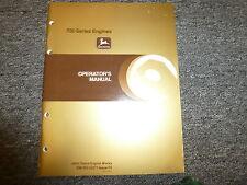 John Deere 8955Af & 8955Tf Engine Owner Operator Maintenance Manual Omrg15271