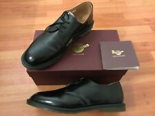 Dr. Martens Archie polished smooth BLACK Leather 14348001 made in England 12 13