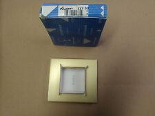 Arnould série LIGHT OR SATIN plaque simple
