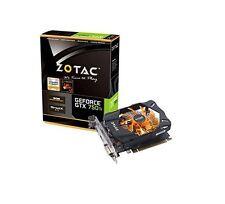 Zotac GeForce GTX 750 ti 2GB Scheda Grafica PCI-E (2x DVI) Mini-HDMI Adattatore VGA