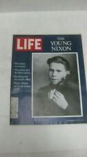 Life Magazine November 6th 1970 The Young Nixon At 14 His Career As An Actor