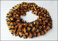 Lot of 10 Natural Baltic Amber Baby Necklaces 33cm