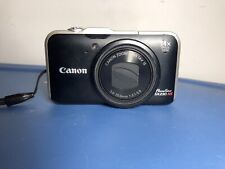 Canon PowerShot SX230 HS 12.1MP Digital Camera - Black Lexar 8GB SIM card