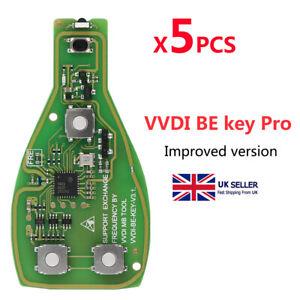 Xhorse VVDI BE Key Pro For Benz XNBZ01EN Remote Key PCB Get 1 VVDI MB BGA Token