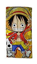 Neu ONE PIECE Luffy Manga Handtuch Duschtuch Hand Towel 35x70CM 002