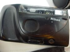 Nikon One Touch 35mm Camera Built In Flash Focus Memory with Strap