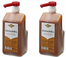 2 Bottles Fontana By Starbucks Caramel Sauce 63 Fl Oz. BBD 5/2020