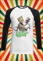 Baby Groot Guardians Galaxy Men Women Long Short Sleeve Baseball T Shirt 1943