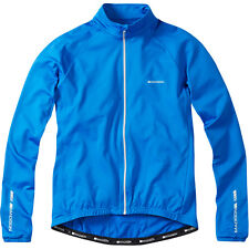 Madison Peloton Men's Long Sleeve Thermal Roubaix Jersey / Jacket - Royal Blue