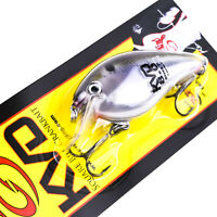 "STRIKE KING KVD 8.0 Silent Magnum Square Bill Crankbait Lure 4.5"" - NATURAL SHAD"