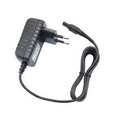 EU Plug Power Supply Lead Charger Cable Cord For Philips AT890 PT720 Shavers