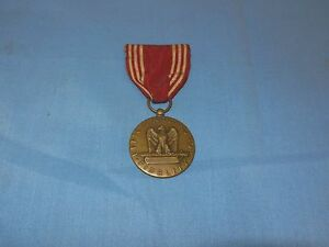 World War II Efficiency Honor Fidelity For Good Conduct Service Medal Ribbon