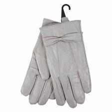 Dove Ladies Genuine Leather Gloves Driving Winter Supple Sheepskin Size: S/M