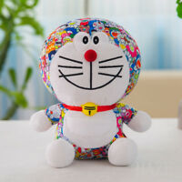 "UNIQLO DORAEMON X Takashi Murakami 12"" Plush Toys Child Birthday Gift Doll"