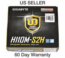 Gigabyte GA-H110M-S2H LGA 1151 mATX Intel Motherboard GA-H110M-S2H