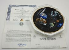 "Franklin Mint Royal Doulton Schimmel ""Sovereign Of The Stars"" Plate 24Kt Tigers"