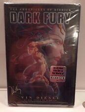 Chronicles of Riddick - Dark Fury (Animated DVD, 2004) NEW SEALED Vin Diesel