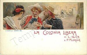 Colonia libera (libretto di Illica, musica di Floridia) / illustratore Beltrame