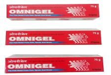 Omnigel Pain Relief Gel 75g X 3 Joint Neck Low Back Muscle Pain Sprain Strain