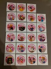 23 Victorian Theme 'I ❤ Playmobil' Stickers - Extremely Rare Collection