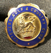 DUTCHESS GOLF & COUNTRY CLUB Goldfilled Pin NEW YORK