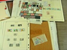 BULGARIA, CAMBODIA, BRAZIL &, 100s of Stamps hinged/mounted on remainder pages