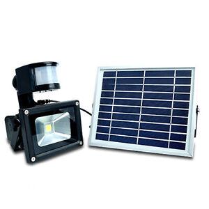 20W LED Solar Powered Waterproof Sensor Light Security Garden Light Street Lamp