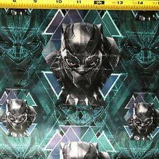 Fabric Black Panther Marvel Comics 100% Cotton Quilting Fabric Priced per Yard