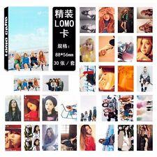 30pcs KPOP BLACKPINK Whistle LOMO CARD JISOO JENNIE Rose LISA Photocard Poster