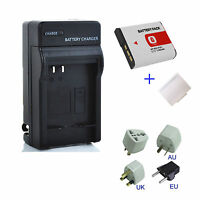 Lithium Ion Battery / Charger For Sony G Type NPBG1 NP-BG1 NP-FG1 Camera