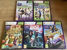 Xbox 360 Kinect 5 Spielepaket Sport Abenteuer Dance Central komplett frei Post