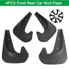 4PC Full Set Flexible Car Fender Flares Extra Wide Body Wheel Arches EVA Plastic