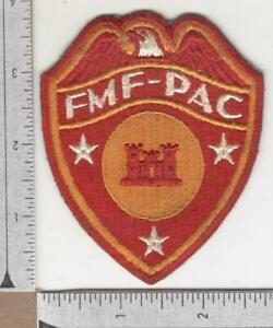 WW 2 USMC FMF-PAC Engineer Patch Inv# N735