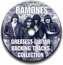 27x RAMONES ESTILO PUNK ROCK GUITARRA FORRO JAM CANCIONES CD ANTHOLOGY COLECCIÓN