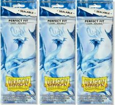 300 Dragon Shield Perfect Fit Inner Sleeves Sealable Clear brand new