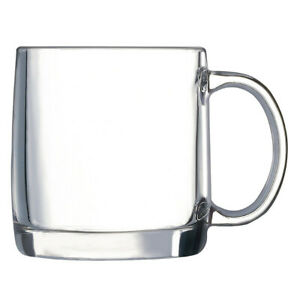 Luminarc Nordik Clear Glass Mug, 380 ml