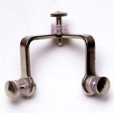 Angolo 3 Lati in ferro nichelato - accessorio per vetrine
