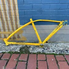 1969 SCHWINN STING-RAY FASTBACK 5 SPEED BICYCLE FRAME YELLOW VINTAGE RARE