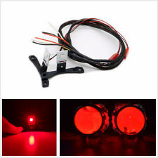 2 x 12V CREE LED Devil Demon Red Eye For Car SUV Projector Lens Headlights Refit