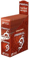 Primal Herbal Wraps Cocoa Bean Box 25 pouches