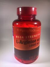 MEGA STRENGTH L-ARGININE HCL 1000 MG  DIETARY SUPPLEMENT 120 TABLETS